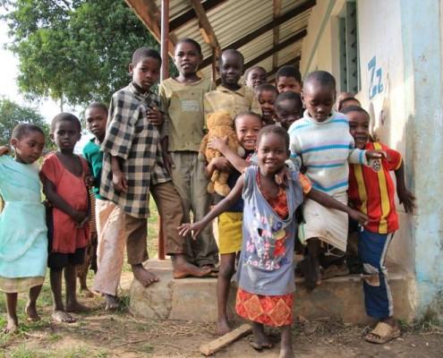 Anwohner-Kenia