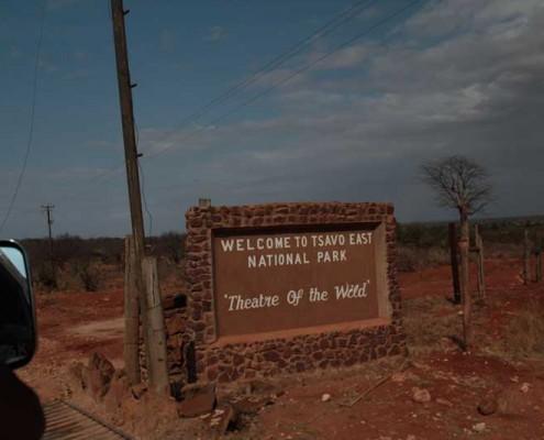 Ausflug-Safari
