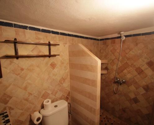 Badezimmer-Unterkunft