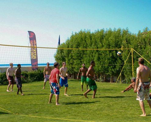 Beachvolleyball im Kiteclub