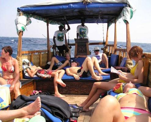 Boot-Ausflug