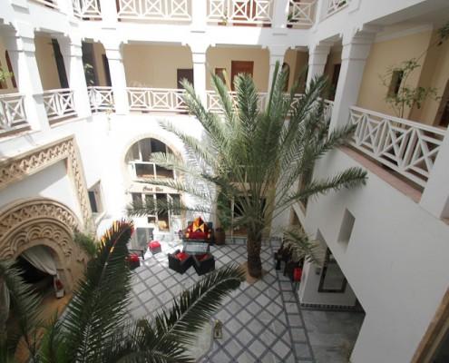 Essaouira-Innenhof