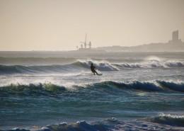 Kapstadt-Kitesurfing