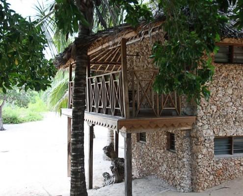 Kite Camp-Unterkunft