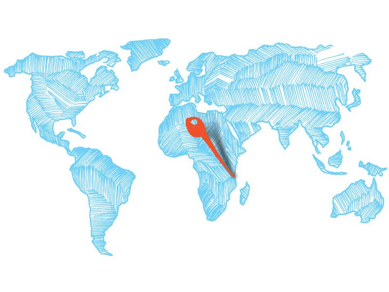 Kite Ferien-Kenia