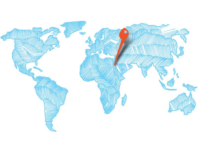 Kite Reisen - Karte