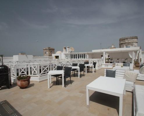 Kite Urlaub-Terrasse
