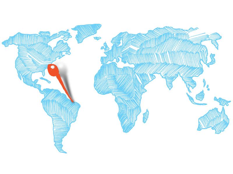Kitereise - Karte