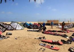 Kitesurf Spot-Kap Verden
