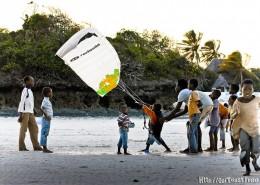 Kitesurfing lernen-Sansibar