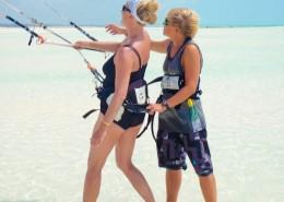 Kitesurfing lernen Sansibar