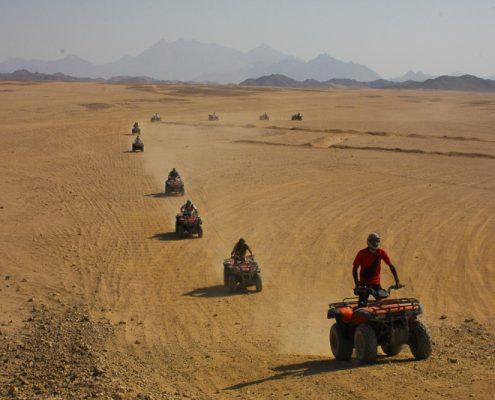 Quad Touren in der Wüste