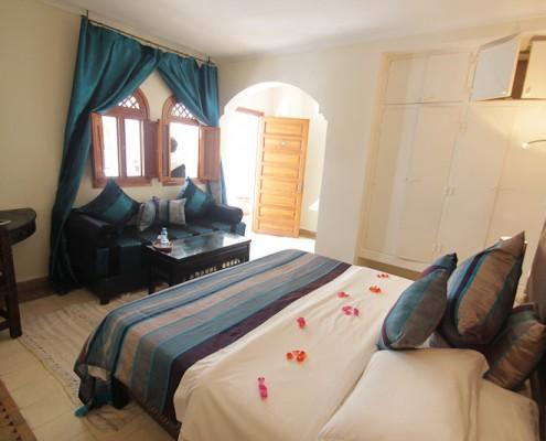 Schlafzimmer-Marokko