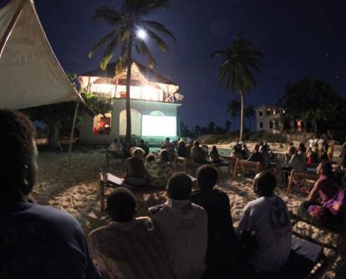 Fußball Open Air auf Zanzibar