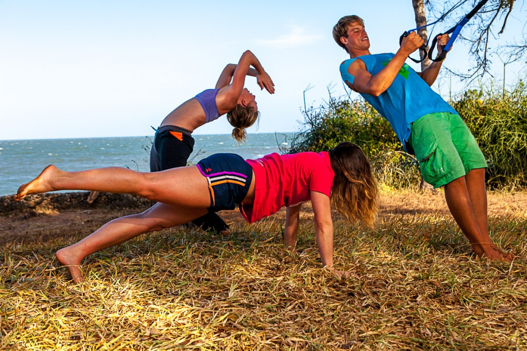 kenia kite lodge workout3