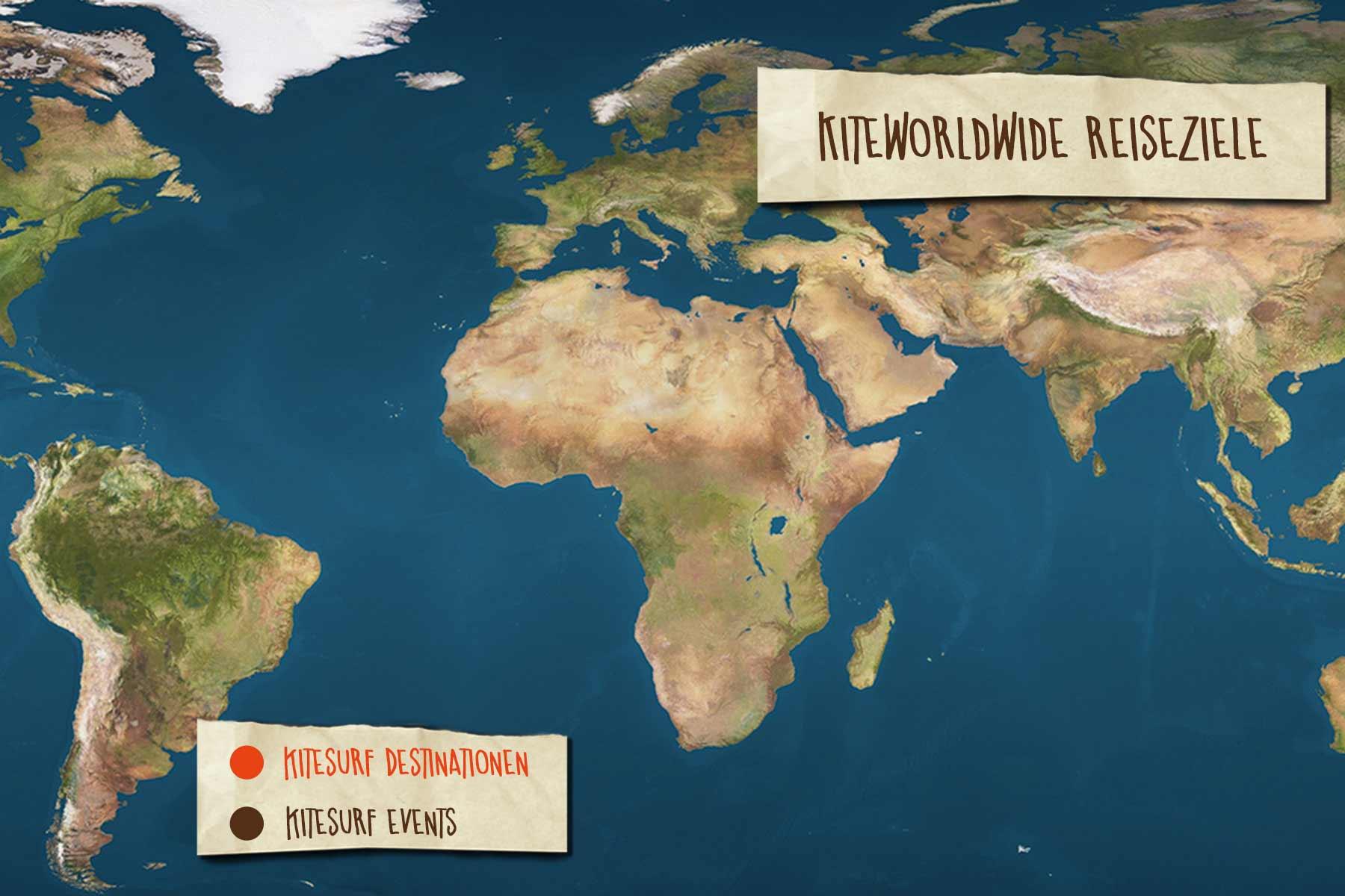 Kitereisen Ziele Weltweit
