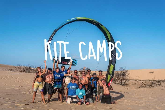 Kite Camps und Kite Eventreisen