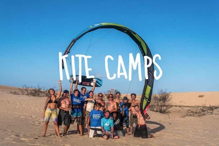 Kite Camps und Kite Eventreisen