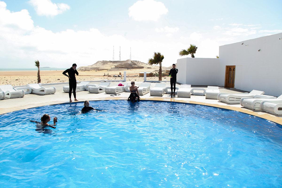 Kitesurfen im Juni mit KiteWorldWide in Marokko, KiteWorldWide Villa Camp Dakhla