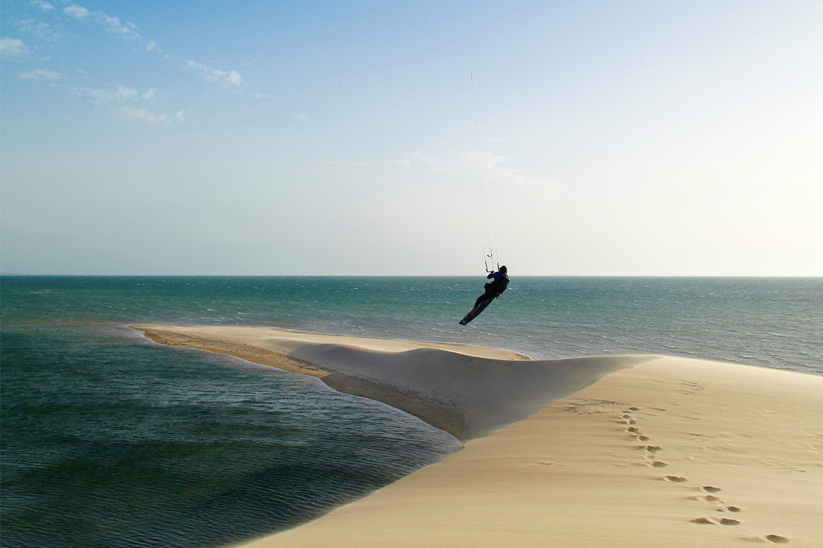 Kitesurfen in Marokko, Dakhla Kitespot White Dune