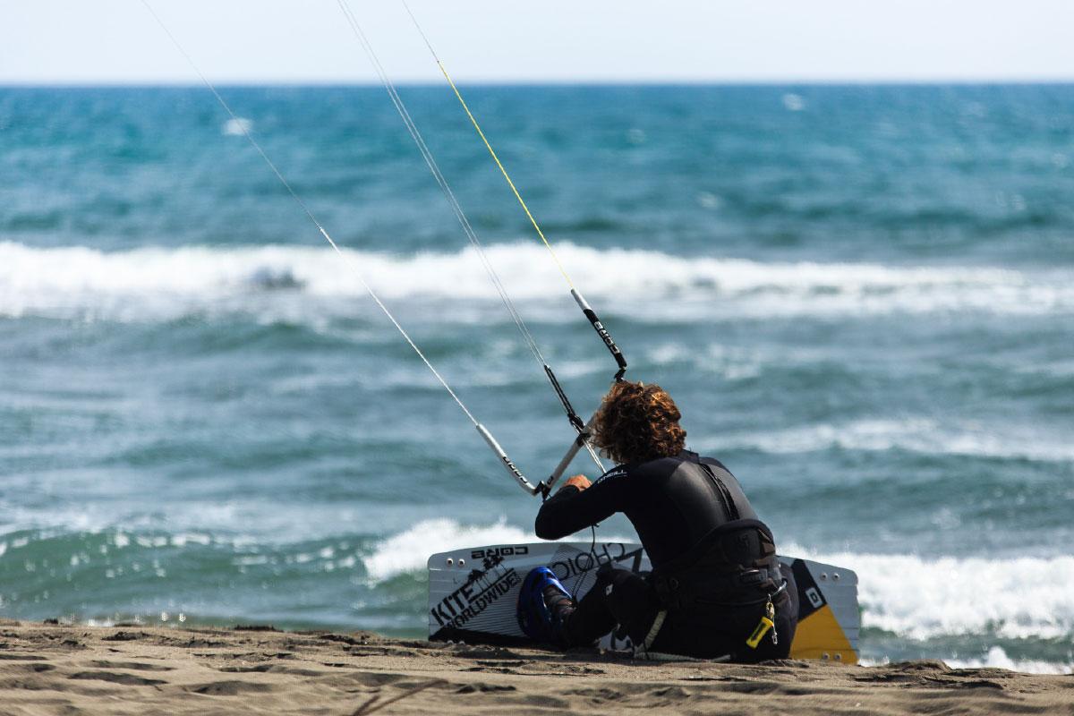 Plaka Beach Kiten