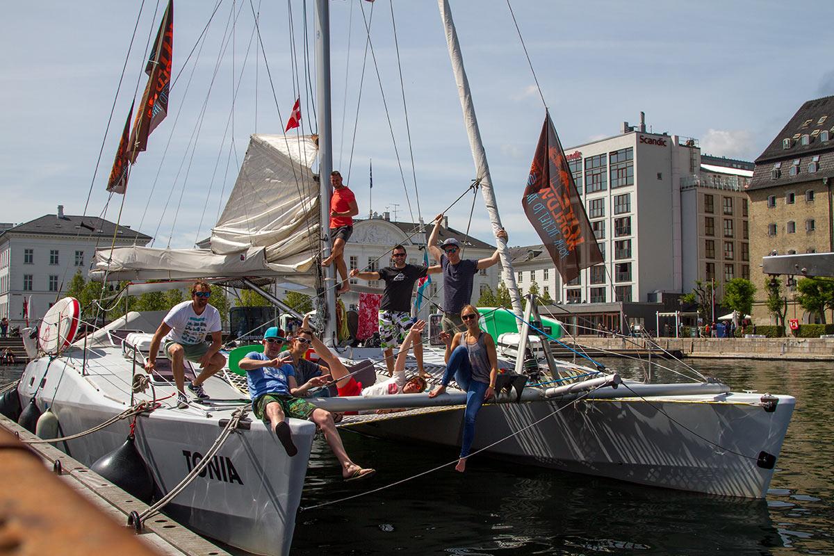 Die Crew - Ostseetörn 2017