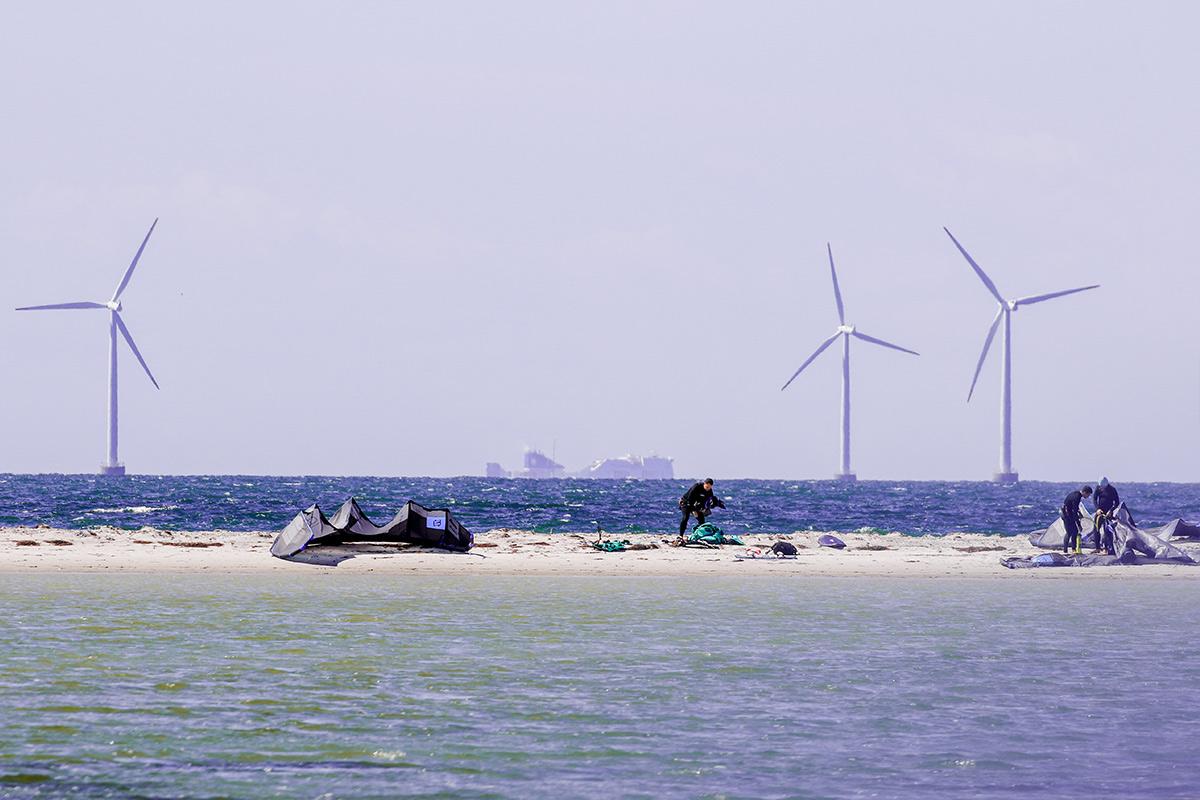 Sandbank Gedser Dänemark
