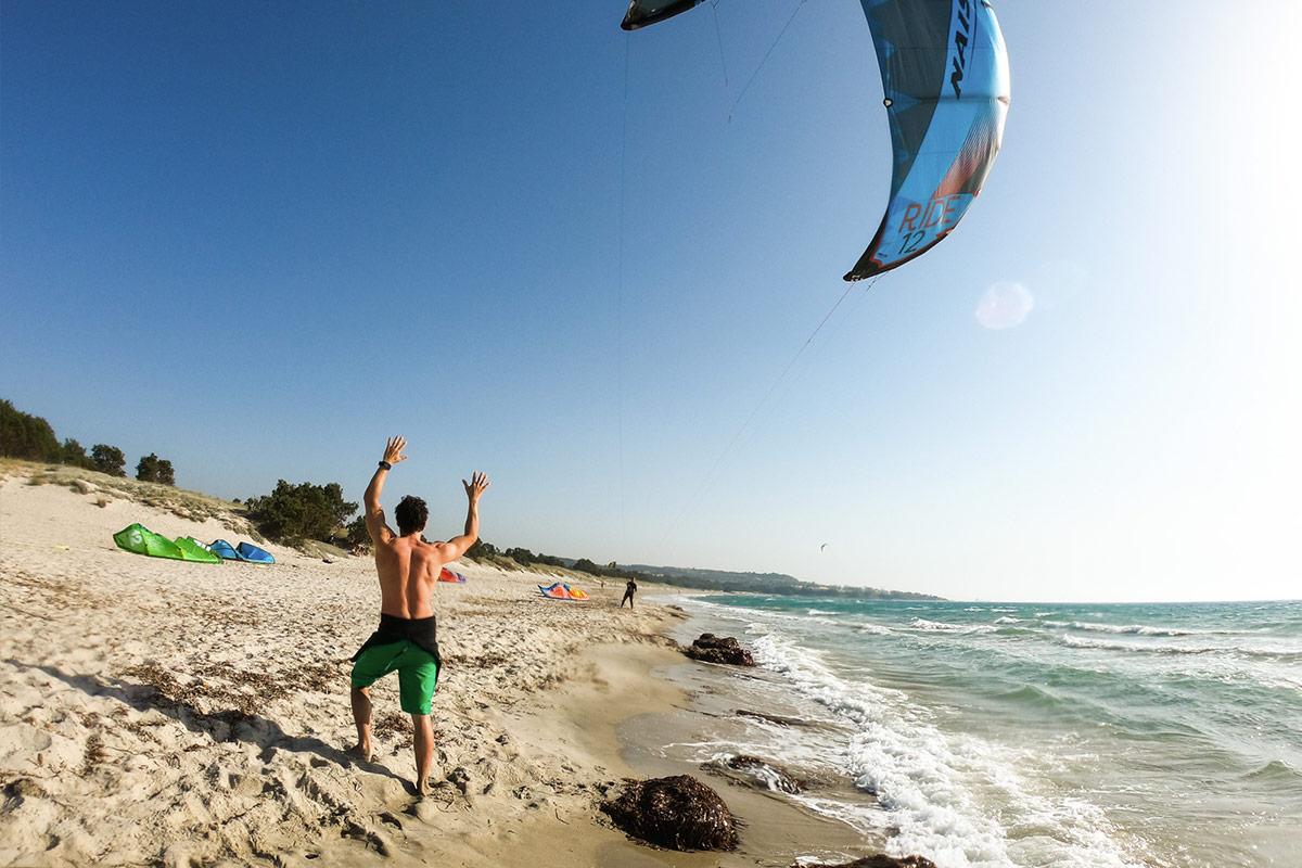 Kitesurfen im Juni mit KiteWorldWide auf Kos, Griechenland