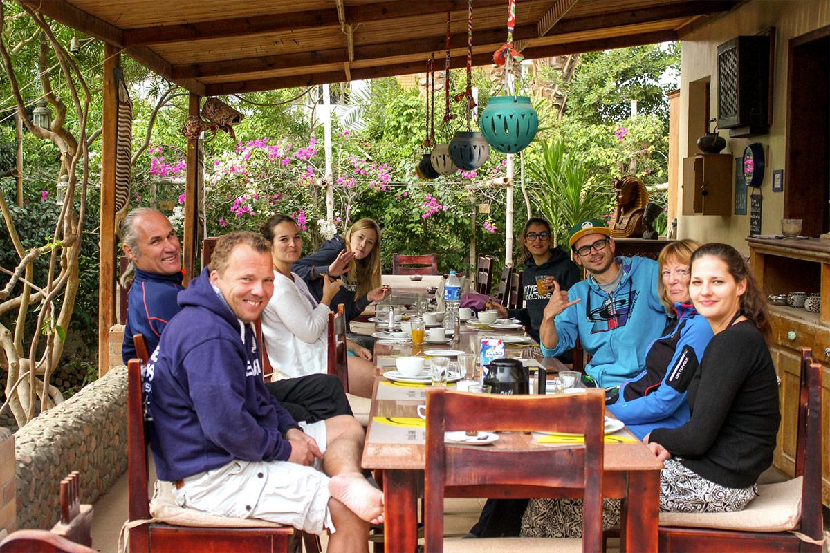 Kitesurfen im Juni mit KiteWorldWide in Ägypten, Ibi & Friends Kiteclub Seahorse Bay