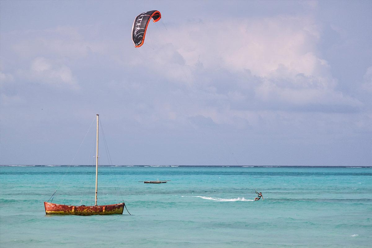 Kitesurfen im Juni mit KiteWorldWide auf Sansibar, Tansania