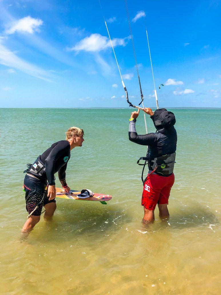 Kitesurfing Linus 5