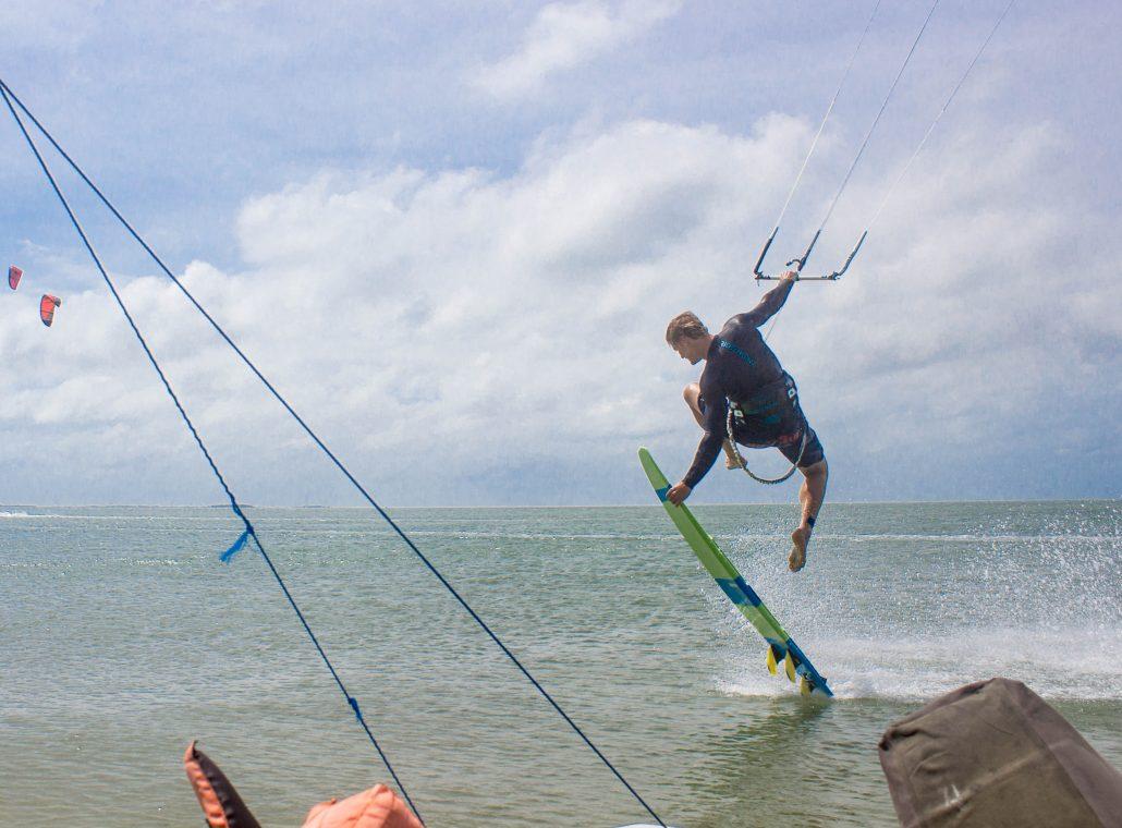 Kitesurfing Linus 4