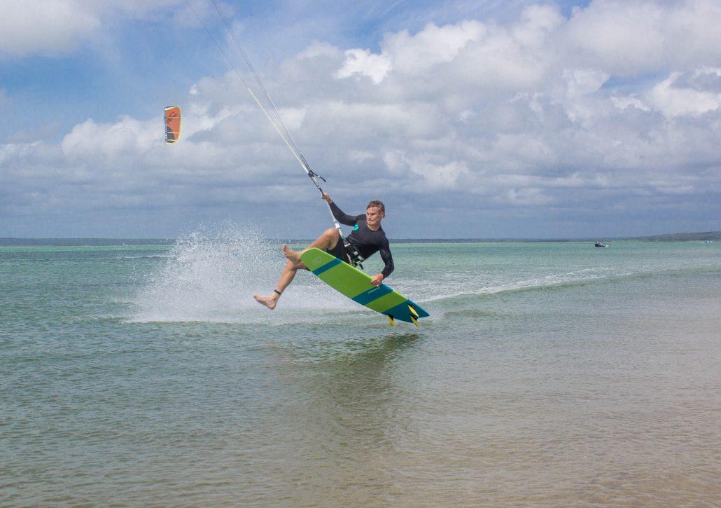 Kitesurfing Linus 6