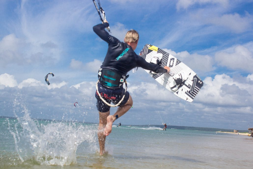 Kitesurfing Linus 7