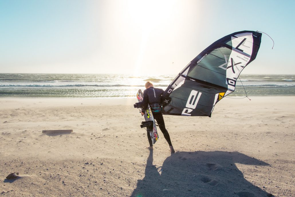 Kitesurfing Linus 3