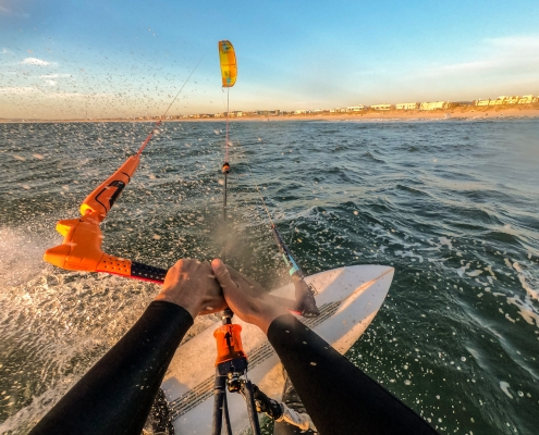 Kitesurfkurs bei KWW