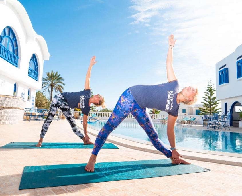 yoga kitesurfen djerba
