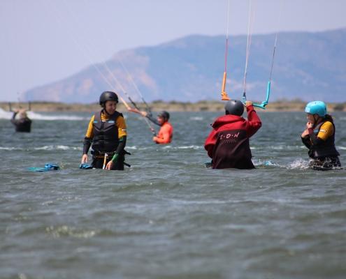 Kitesurfen auf Sizilien