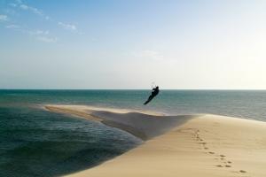 Marokko, La Tour d'Eole Dakhla Kitesurfen an der Weißen Düne