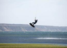 Kitesurfen in Dakhla Marokko Tour d'Eole