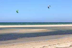 Kitesurfen in Dakhla, Marokko, Tour d'Eole