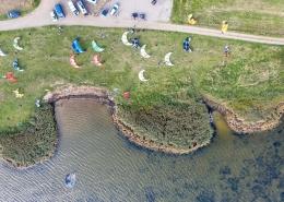 Kitesurfcamp Hvide Sande am Ringköbing Fjord Dänemark