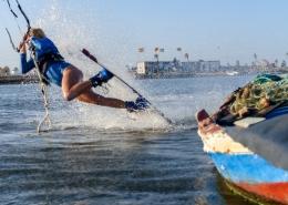 Kitesurfen auf Djerba mit Lonia Häger am KiteWorldWide Kitecenter