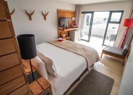 Doppelzimmer im südafrikanischen Windtown Lagoon Hotel