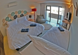 Windtown Langebaan Hotel Dreibett Doppelzimmer