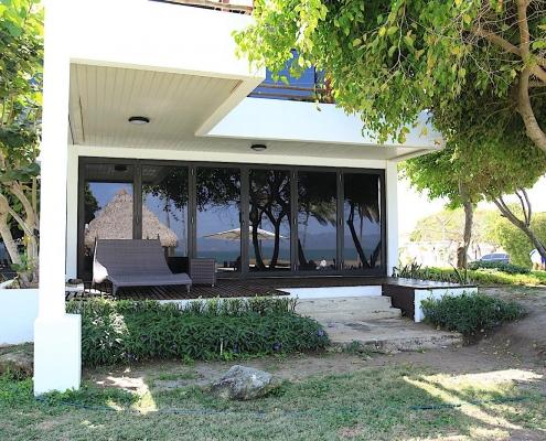 Das Hotel Maalaea Beach Resort bietet aus dem Zimmer den Blick auf den Kitespot