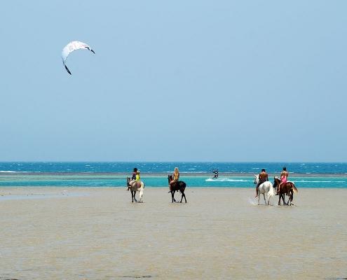 Kitesurfen_in_Aegyten