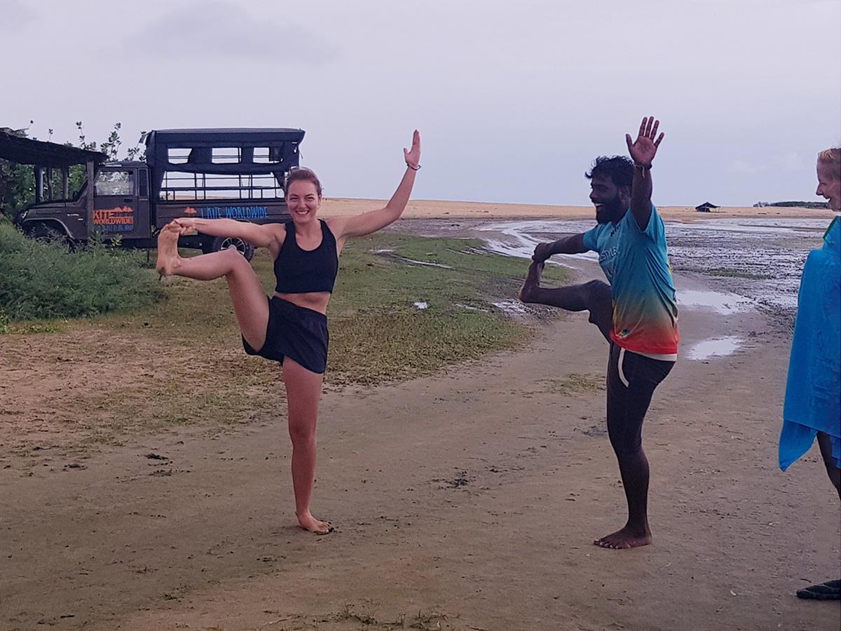 Antonia ist Yogalehrerin auf Sri Lanka