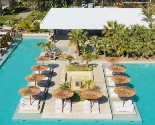 Junior Suiten am Pool des Caravia Beach auf Kos