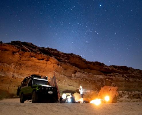 Unter dem Sternenhimmel in der Wüste bei El Gouna verbringen